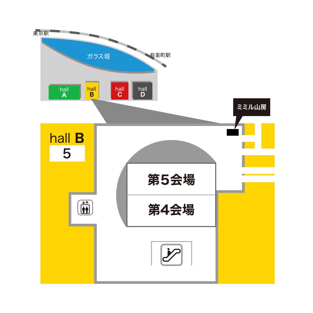 2019日本眼科学会総会ミミル山房出展場所